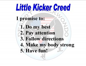 Little kicker creed
