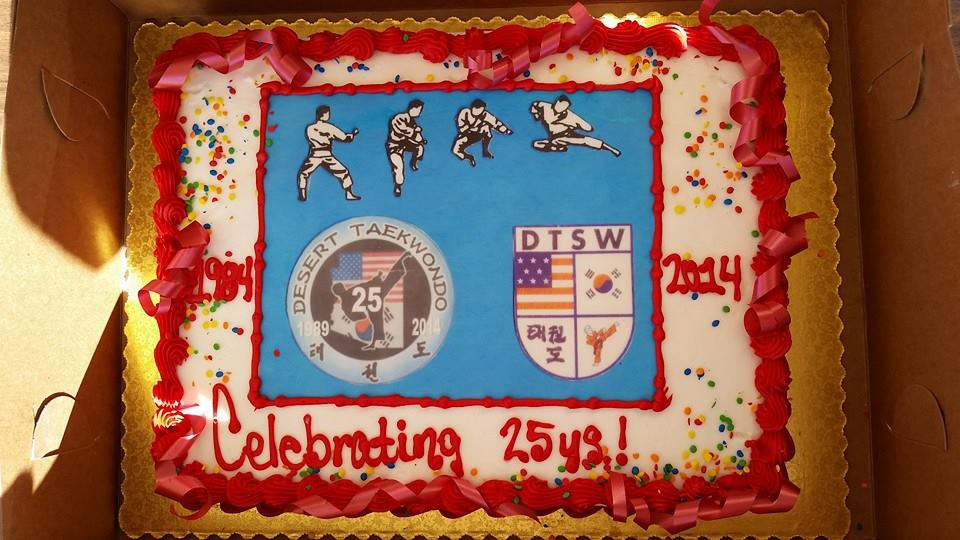 25th cake tourny