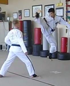 Hu spin kick